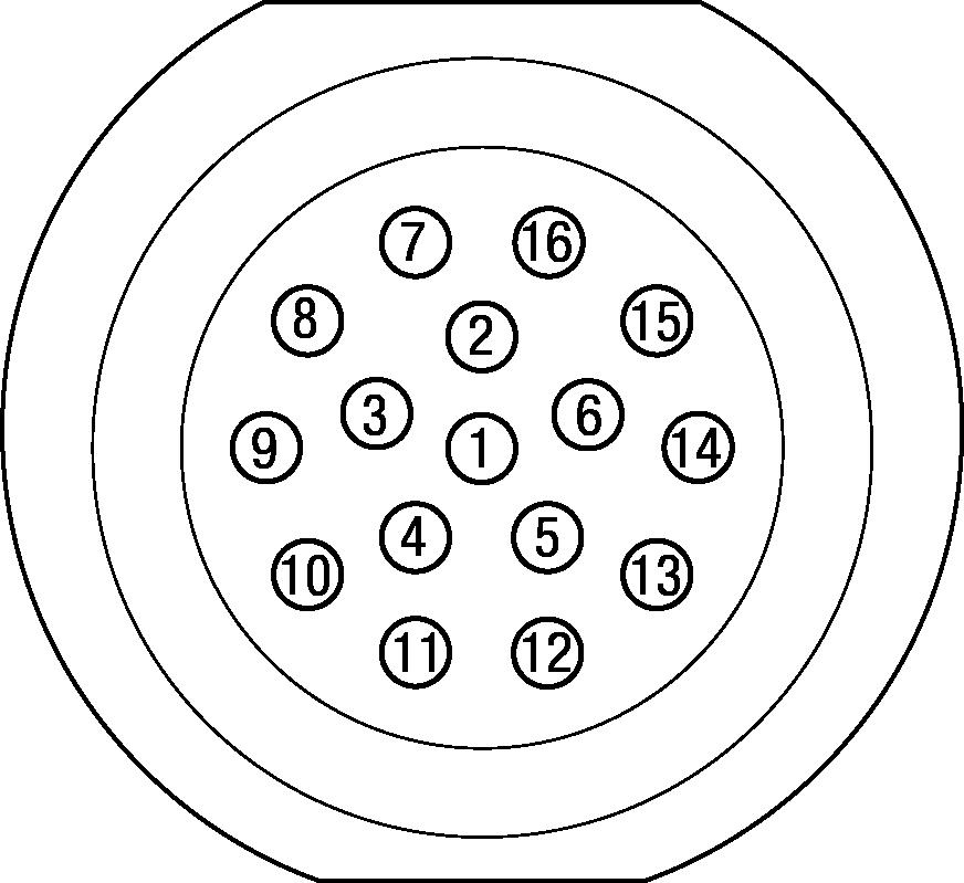 3 Pin Circular Connector